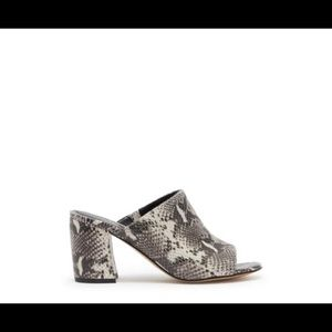 Marc Fisher Snake Print Sandals